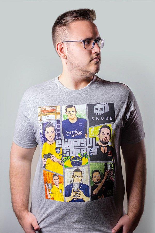 CAMISETA ELIGASUL BRASIL  MESCLA-  GF