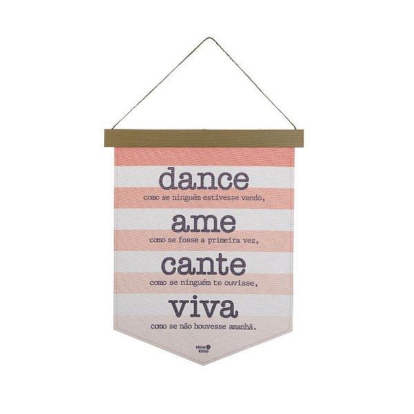 BANDEIROLA 27 X 35 - DANCE