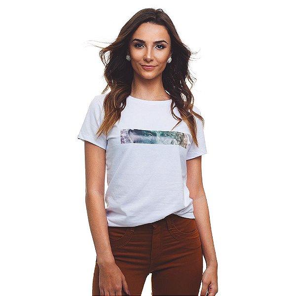 Camiseta BeCauz Feminina Visionários: Gandhi