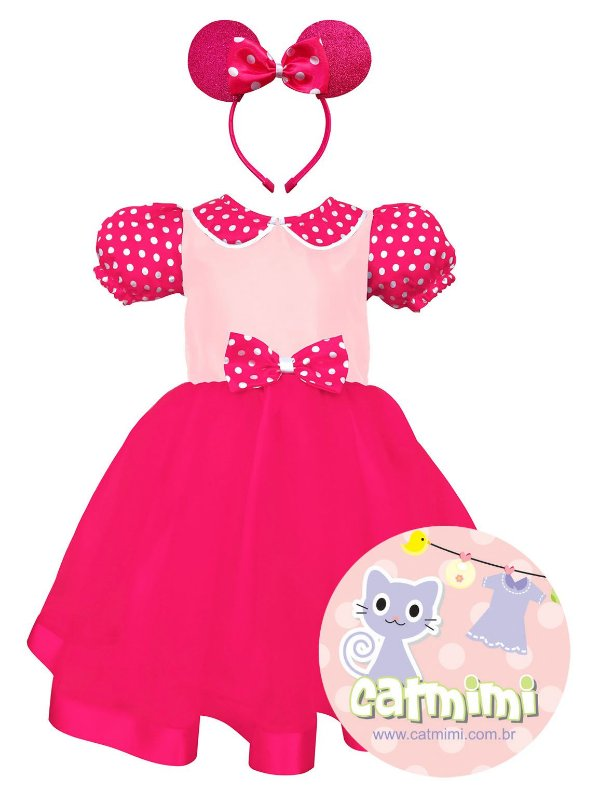 Fantasia Minnie Rosa