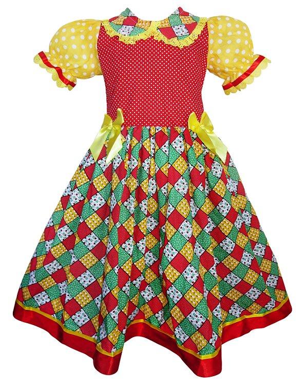 Vestido Festa Junina 021