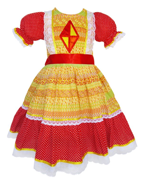 Vestido Festa Junina 003