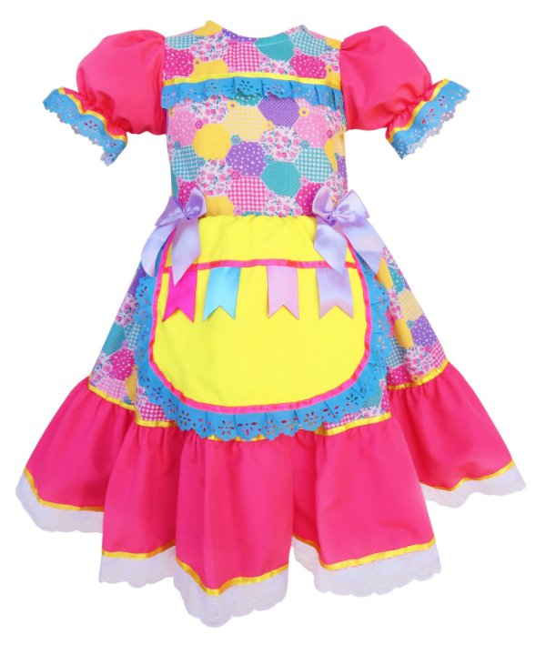 Vestido Festa Junina 012B