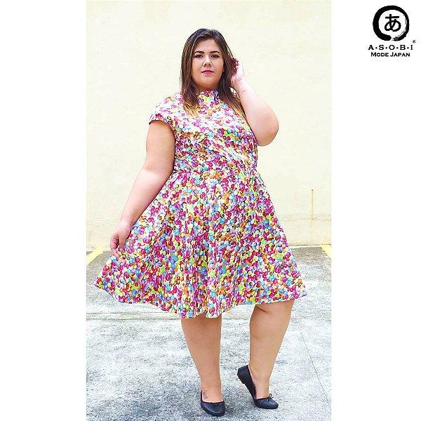 Vestido Plus Size Godet - Sweet