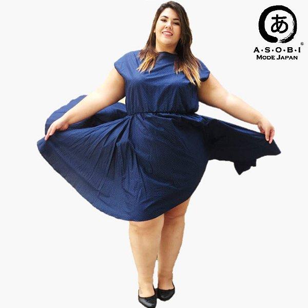Vestido Plus Size Godet - Classic