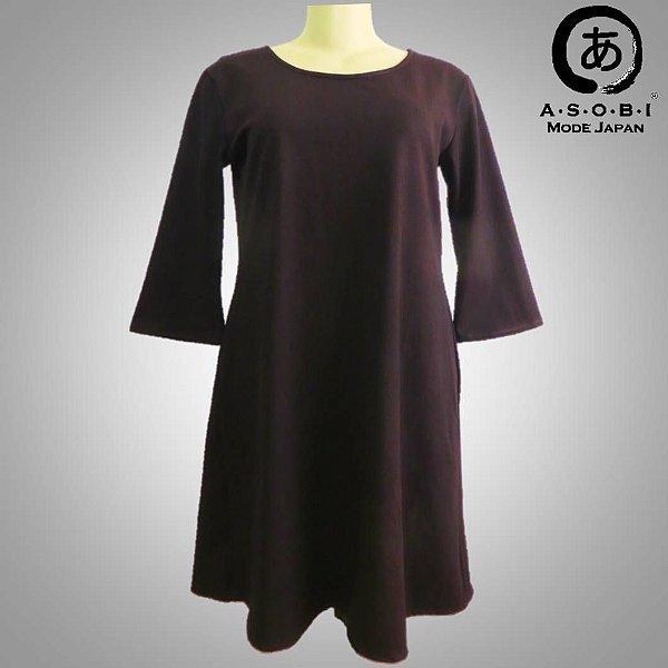 Vestido Plus Size Linha A - Dark