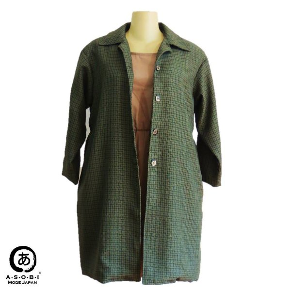 TRENCH COAT (CASACO LONGO)- TWEED COM FORRO