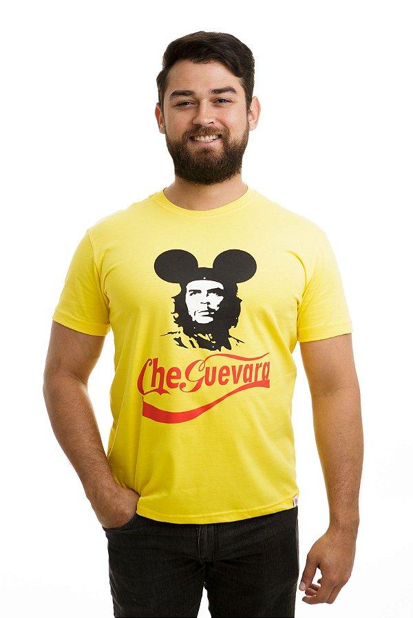 Camiseta Che Guevara Capitalista Amarela
