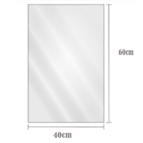 Saco Plástico Transparente BD 40cm x 60cm Com2kg