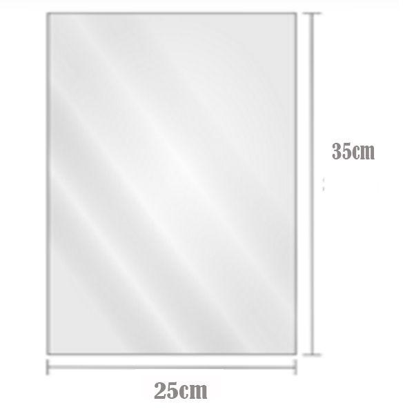 Saco Plástico Transparente BD 25cm x 35cm Com 2kg