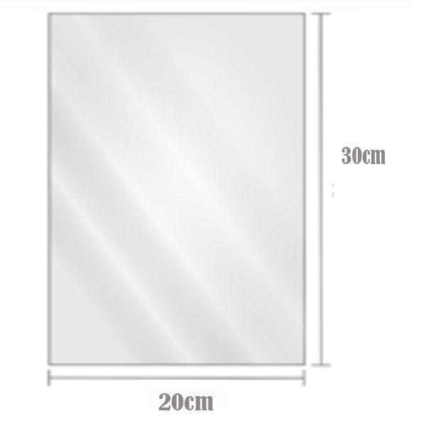 Saco Plástico Transparente BD 20cm x 30cm Com2kg
