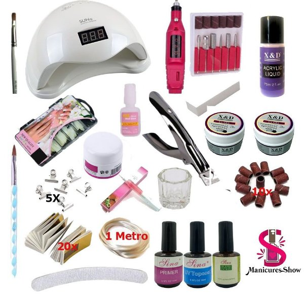 Kit manicure profissional 6 em 1