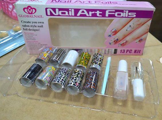 Kit Nail Foil completo