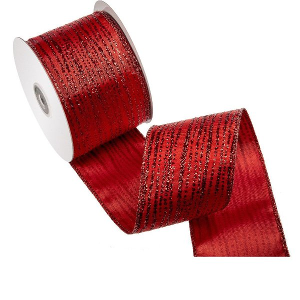 Fita vermelha salpique vermelho brilhante A108375