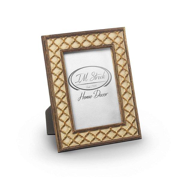 Porta retrato ouro/prata F408225