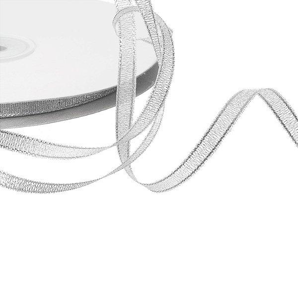 fita metalica prata 0,63cm x50m