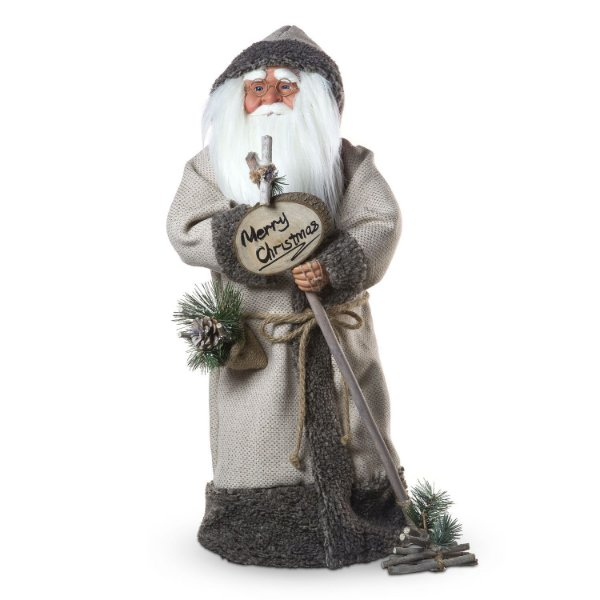 Papai Noel c/ placa merry christmas G308468