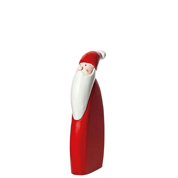 Perfil Noel vermelho em madeira P F358643