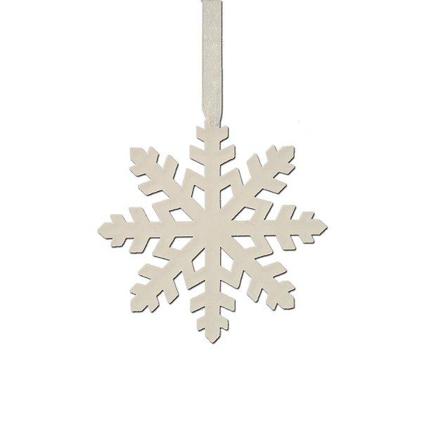 Floco de neve branco plano 3 unidades G159470