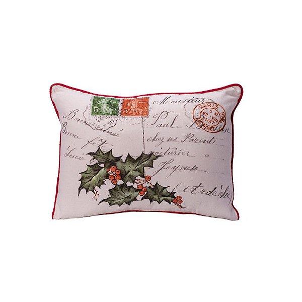 Capa de almofada carimbos Christmas C209747
