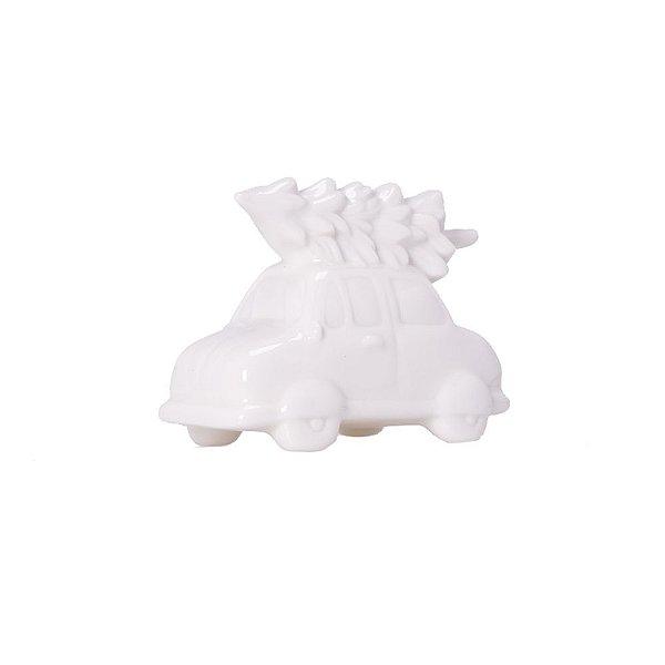 Carrinho com árvore branco em cerâmica F359513