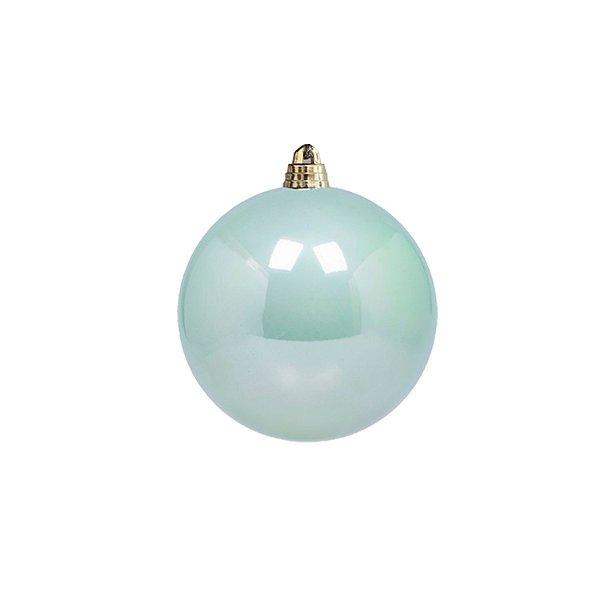 Bola perolada azul candy 10cm G159447