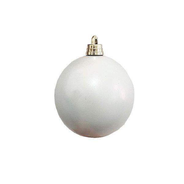 Bola branca furtacor fosca 10cm - G159453