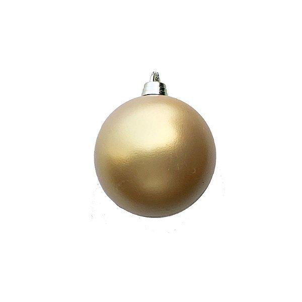Bola Ouro Fosco 10cm - G150966