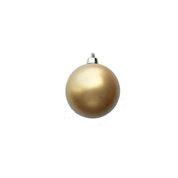 Bola Ouro Fosco 6cm c/6un - G150968