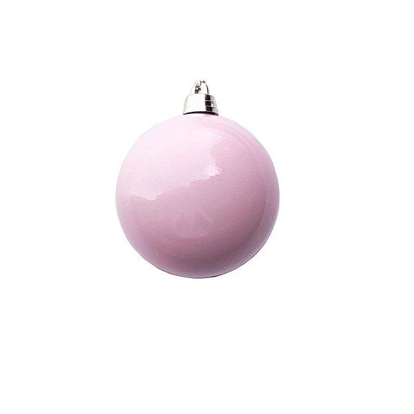 Bola Rosa Pastel 8cm c/4un - G150973