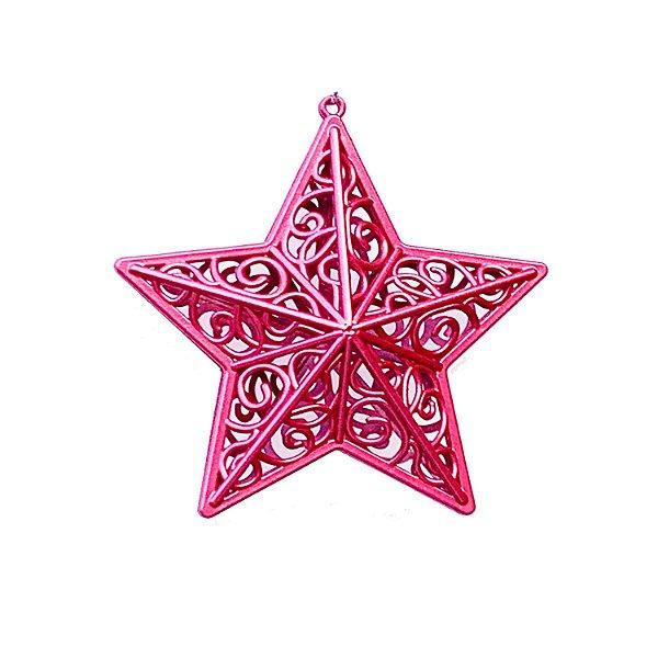 Estrela Borgandy Arabesco 10x10cm - G150991