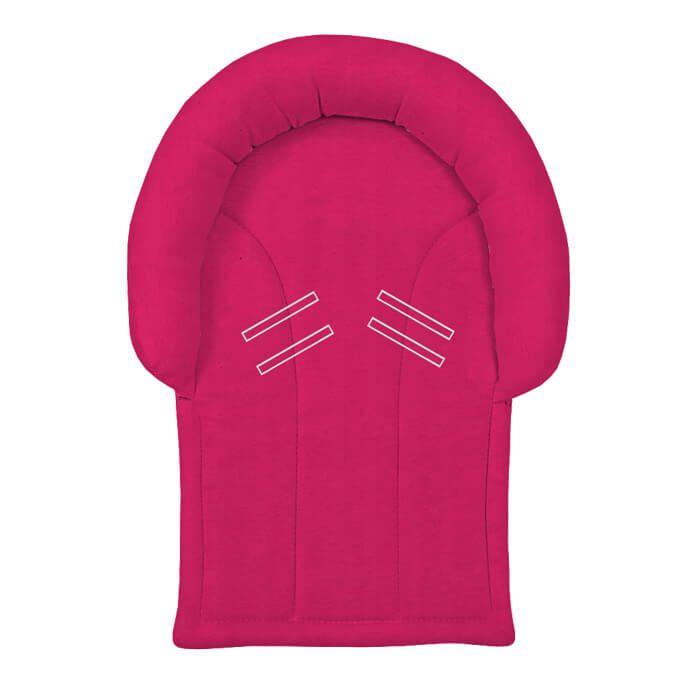 Protetor de Cabeça Pink para Bebê Conforto