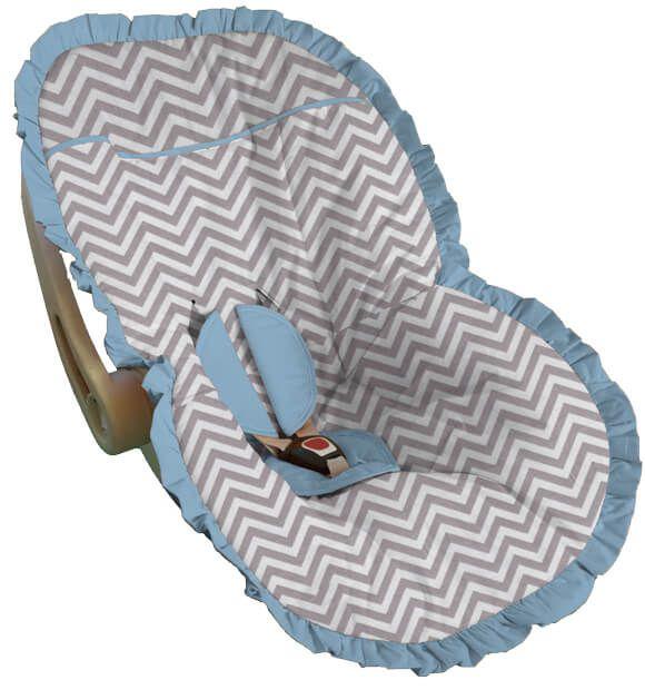 Capa para Bebê Conforto Chevron Toulon