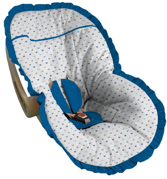 Capa para Bebê Conforto Coração Java
