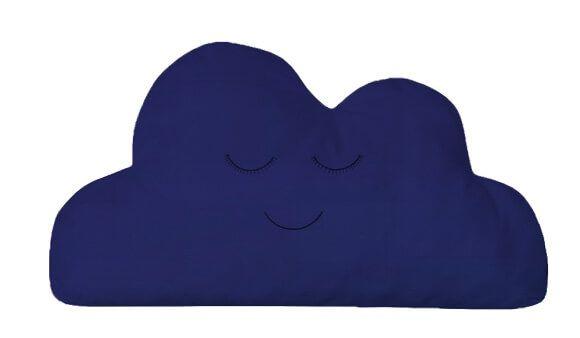 Almofada Nuvem Azul Marinho