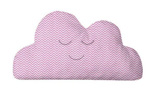 Almofada Nuvem Mini Chevron Pink