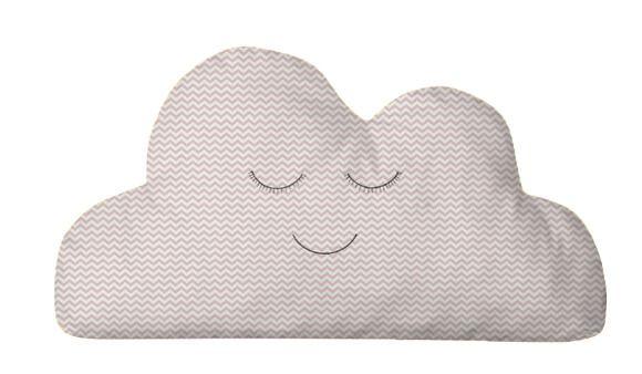 Almofada Nuvem Mini Chevron Rosa