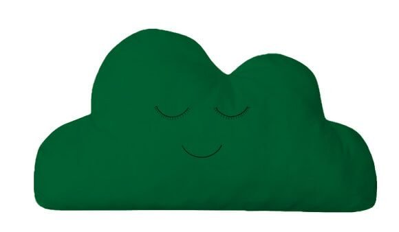 Almofada Nuvem Verde Bandeira