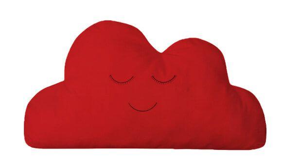 Almofada Nuvem Vermelho