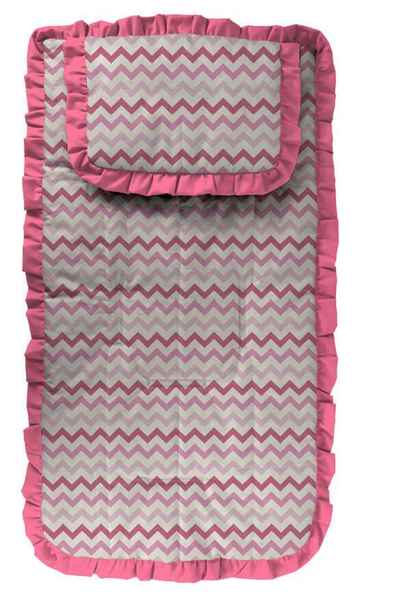 Capa para Carrinho Chevron Nara Pink