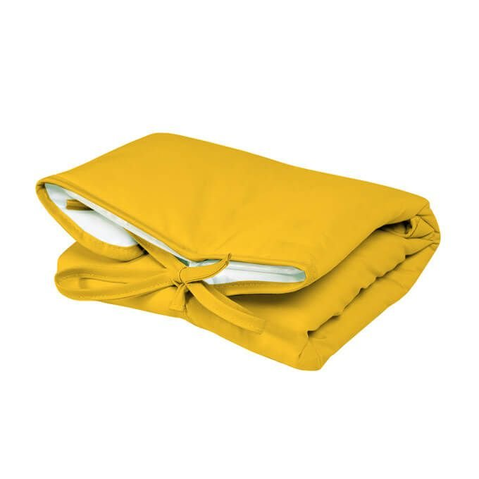 Trocador Portátil Dobrável Amarelo para Bebê