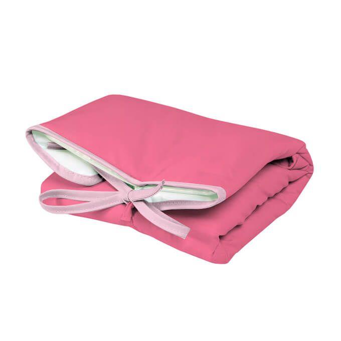 Trocador Portátil Dobrável Pink para Bebê