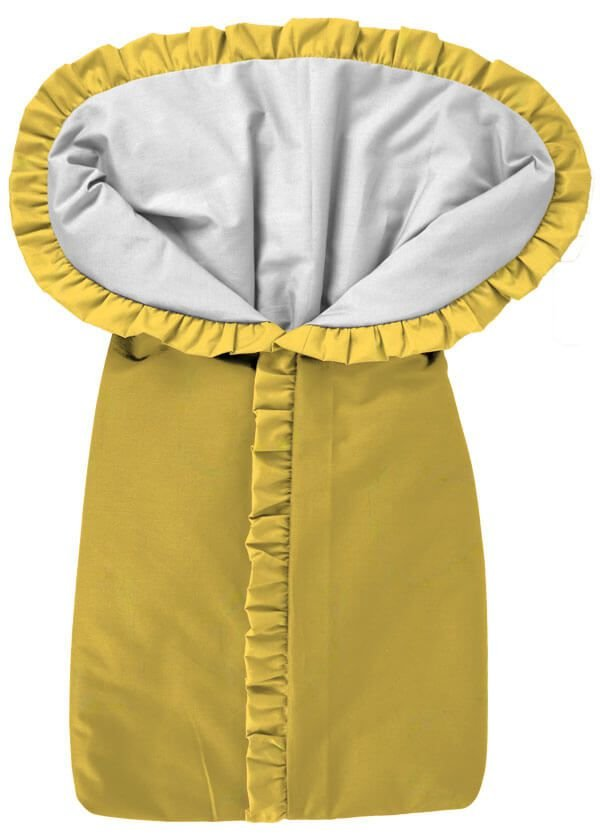 Porta Bebê Saco de Dormir Amarelo