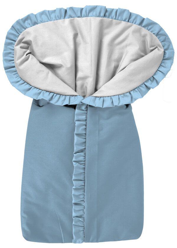 Porta Bebê Saco de Dormir Azul Bebê