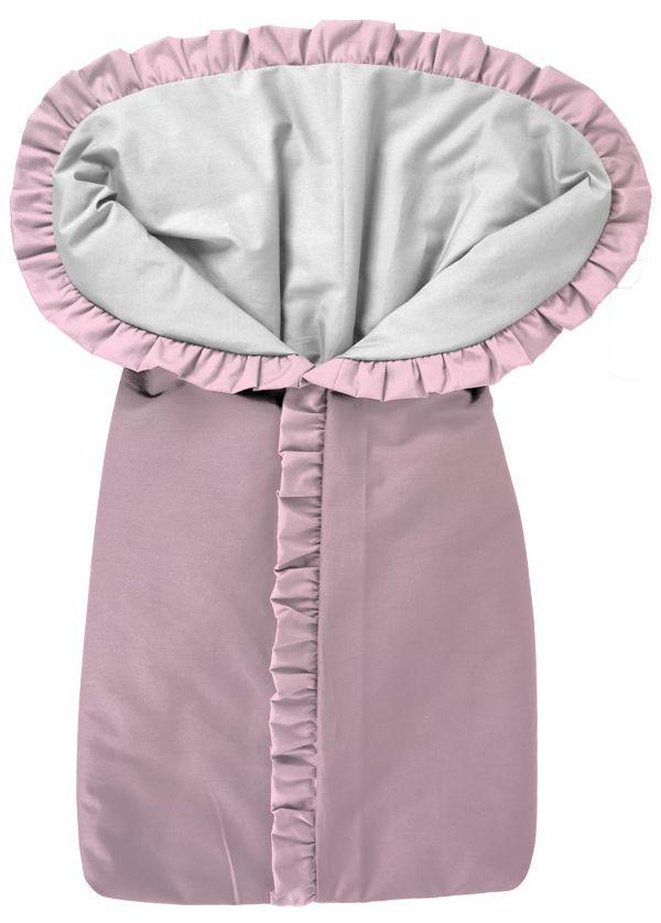Porta Bebê Saco de Dormir Rosa Bebê