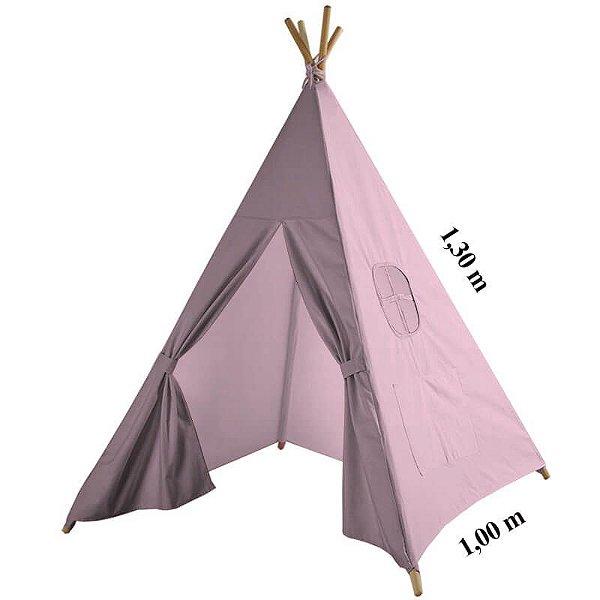 Cabana Tenda Rosa Bebê