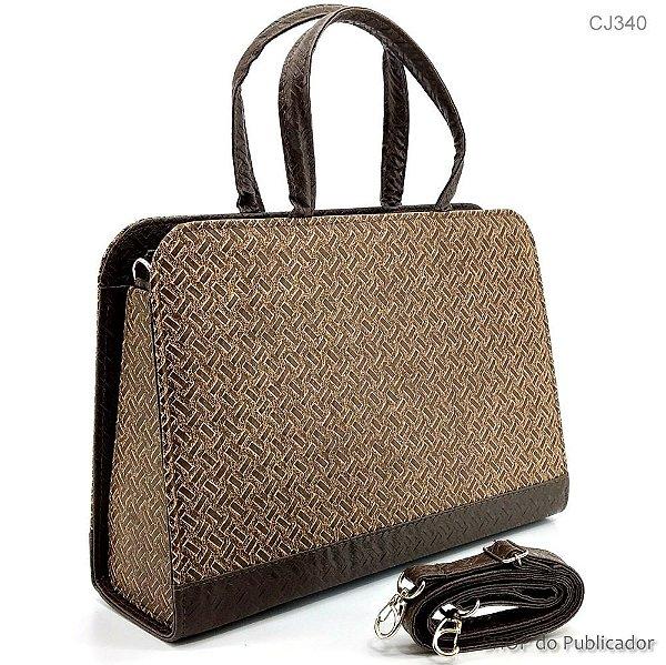 Bolsa Feminina BAG Trisse Castanho - BAG340