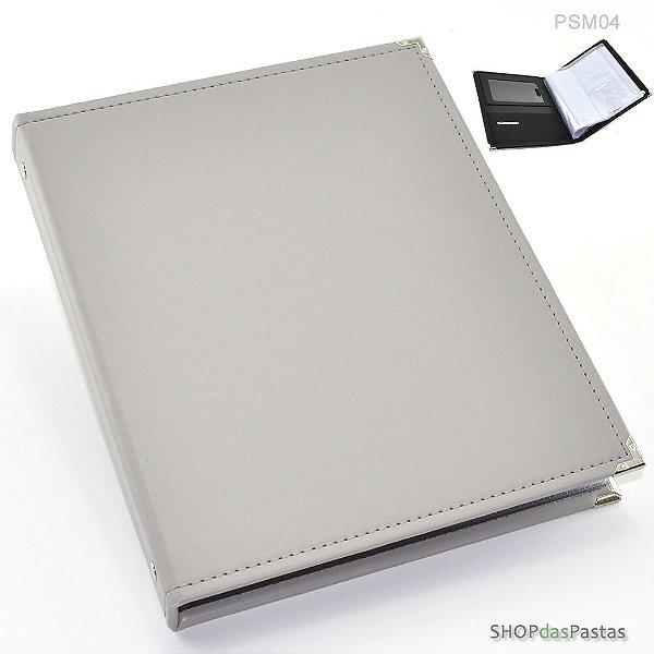 Pasta para Smartphone e Publicações - Cinza PSM04