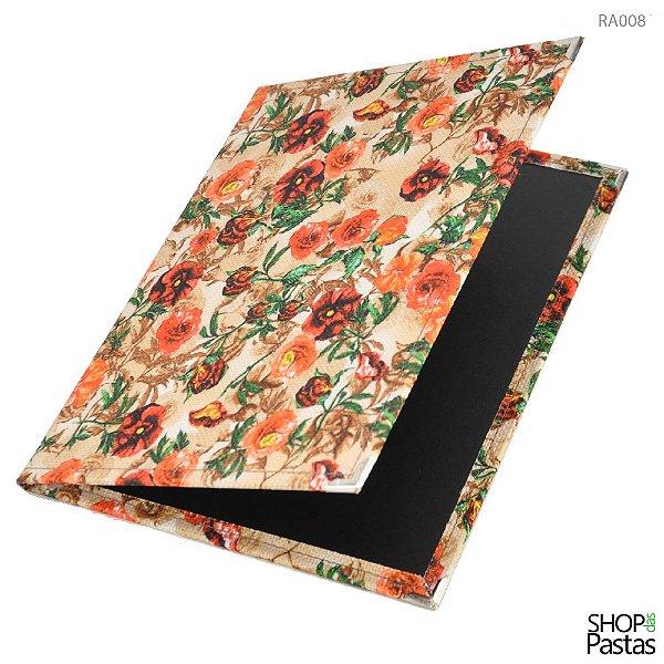 Capa Suporte para Revista e Apostila - Floral RA001