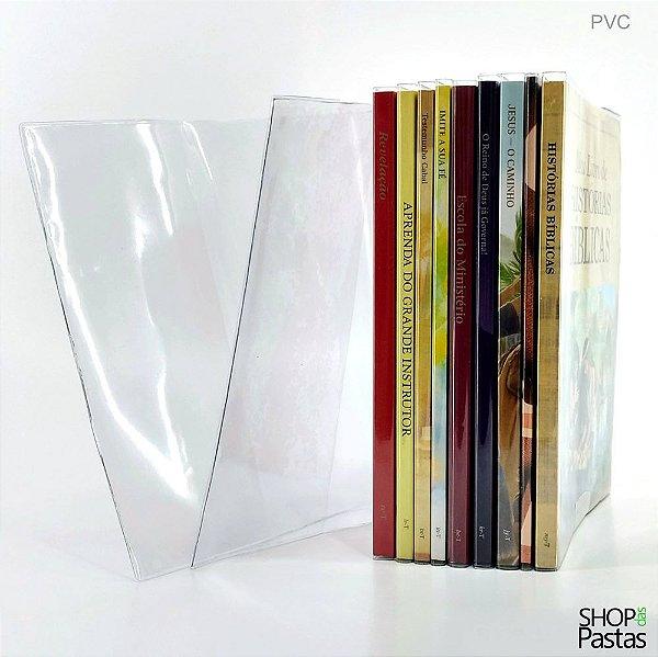 Capa de PVC Cristal para Livro do Pioneiro